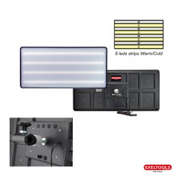 photo Board HD 8 leds Strips Warm/Cold