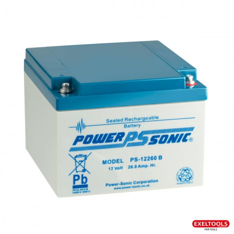 photo Batterie 12V-26Ah