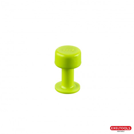 photo Ventouses Smooth Tabs Gang Green Edition 12 mm - pack de 10 ventouses