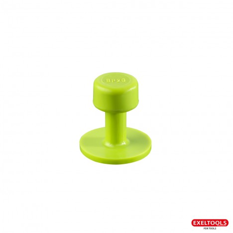 photo Ventouses Smooth Tabs Gang Green Edition 20 mm - pack de 10 ventouses