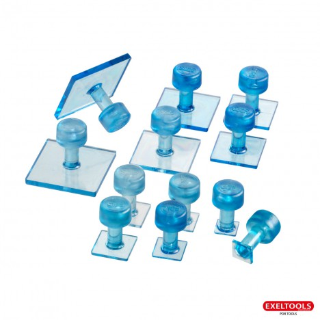 photo Pack de 12 ventouses ICE carrées