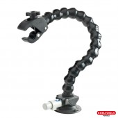 Claw suction cup mount