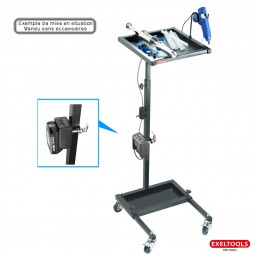 photo Exeltools mobile glue set cart