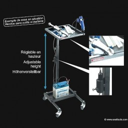XSERVANTE Exeltools mobile glue set cart