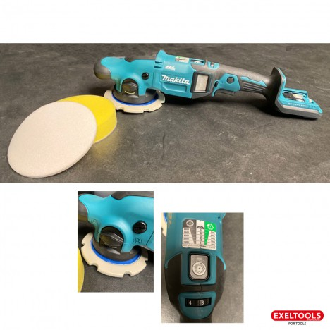 18V Orbital and Rotary Polisher