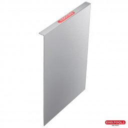 photo #2 Plaque de protection vitre en inox