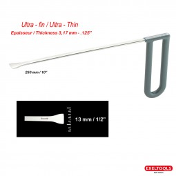 photo Icetools - Whale Tails Head Ultra Thin - Long: 10