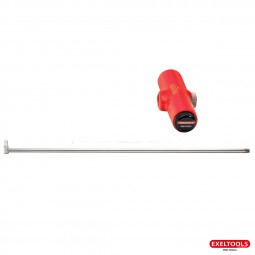 photo Interchangeable wing and roof rod - Long. 40