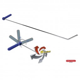 X103 Hook 18 positions - Rotate 360� - L�nge: 910 mm