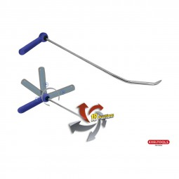 X104 Hook 18 positions - Rotate 360� - L�nge: 610 mm