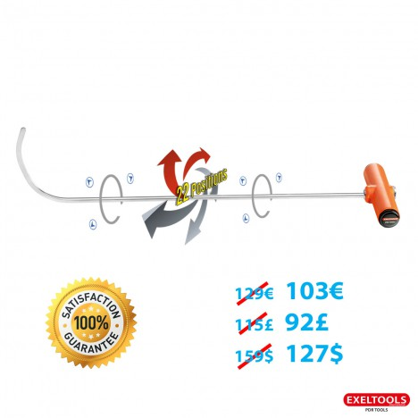 Promo Crochet 26 indexable 360° 22 positions