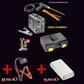 - For oil canning PDR + 12V protection + electric earth magnet fixation