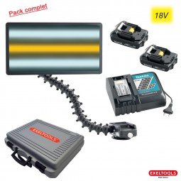X40US CORD PACK Kit X40US Cordless Makita + 2 batteries + 1 chargeur rapide