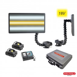 photo  Kit X40US Cordless Makita + 2 batteries + 1 chargeur rapide