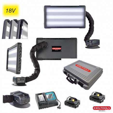 photo PDR Cordless light Set