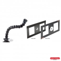 photo #2 Pump up suction cup, base, neck and backer